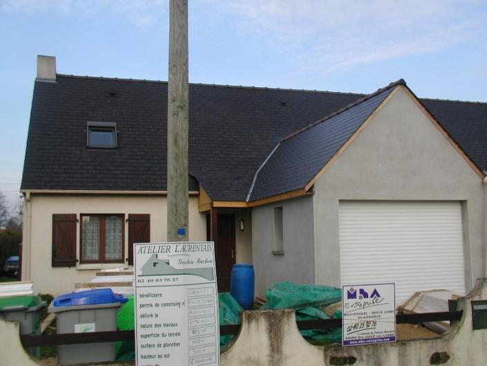 Agrandissement maison à Ste Luce sur Loire