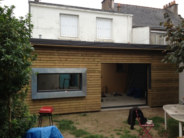 Extension maison à Nantes