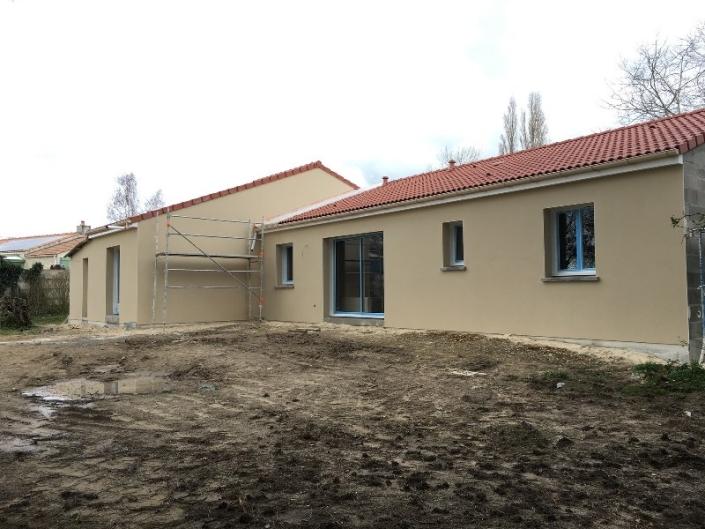 Enduit maison neuve à Arthon en Retz