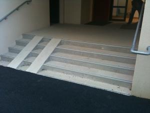 Création escalier école Nantes