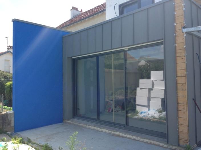 Enduit RPE bleu Nantes