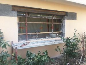 Création nouvelle fenêtre au Cellier