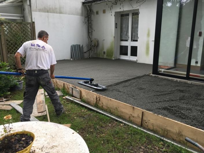Terrasse drainante Carquefou