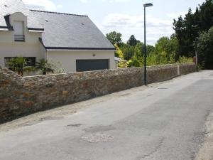 Mur de pierres Carquefou