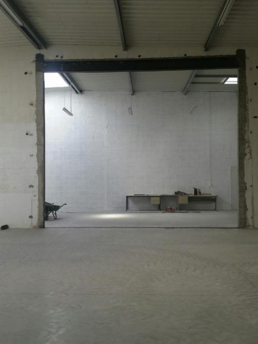 Création d'ouverture bâtiment 44