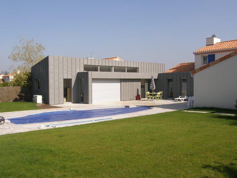 Extension maison à Carquefou