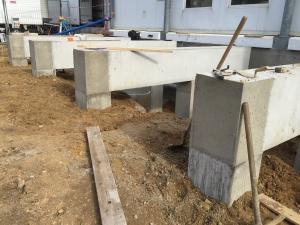 Fondations massifs longrines à Nantes