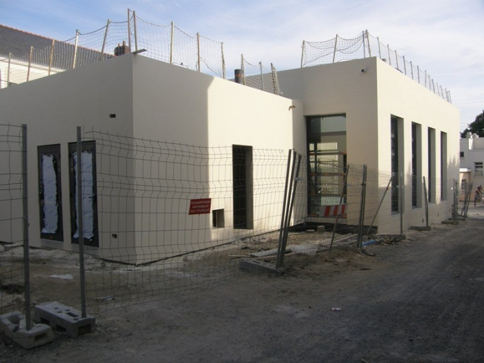 Construction cantine 44