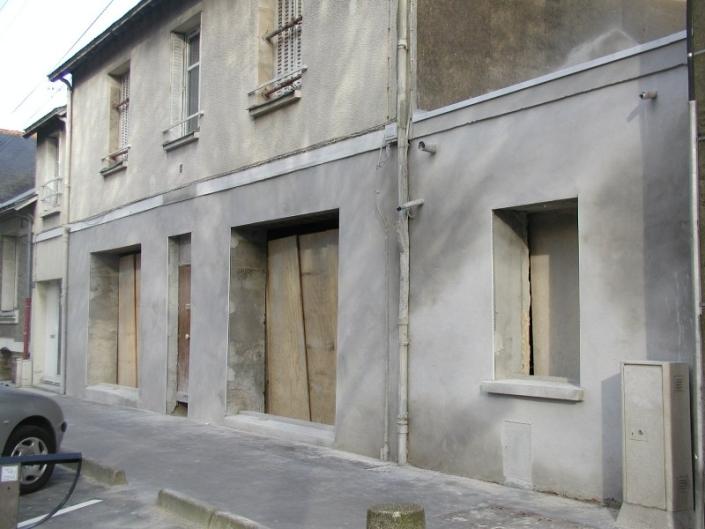 Création d'ouvertures façades à Nantes