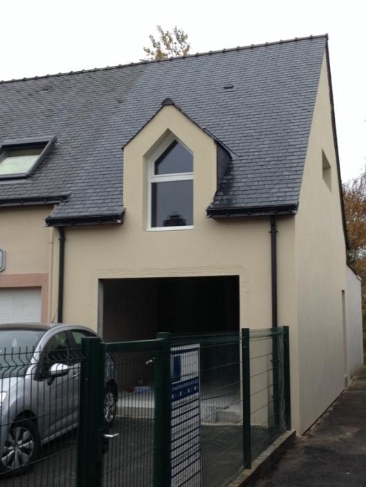 Extension d'un garage avec studio