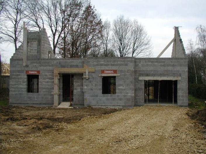 Construction maison Grandchamp des Fontaines