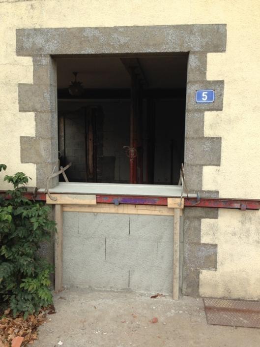 Modification porte d'entrée à St Sébastien