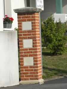 Mur de clôture Le Cellier