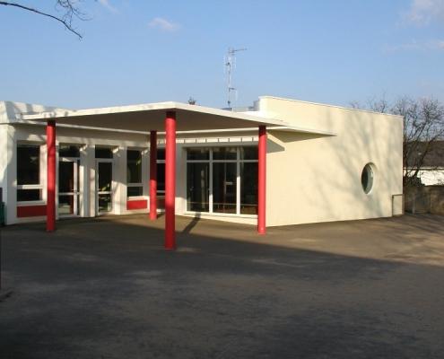 Construction préau école 44