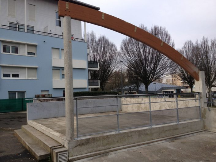 Renovation un square Nantes