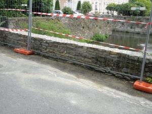Reprise mur en pierre Thouaré sur Loire