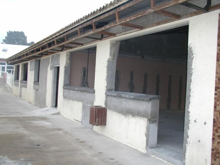 Modification locaux piscine